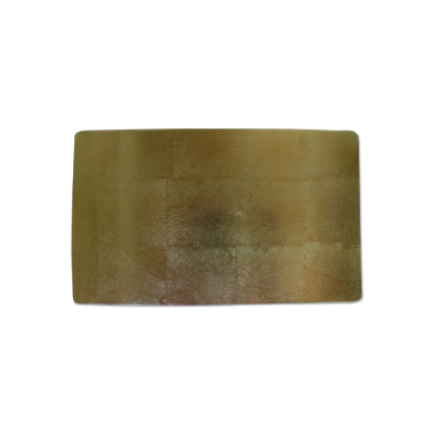 画像1: 箔スモールプレート グリーン (1)