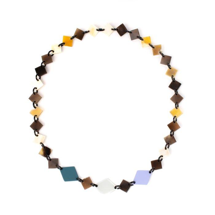 画像1: ネックレス  ダイヤカット / マルチカラー 80cm (1)