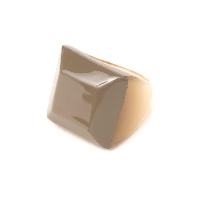 画像1: リング   ファセット / カーキ (1)